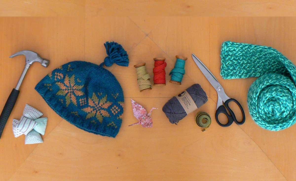 do some crafts