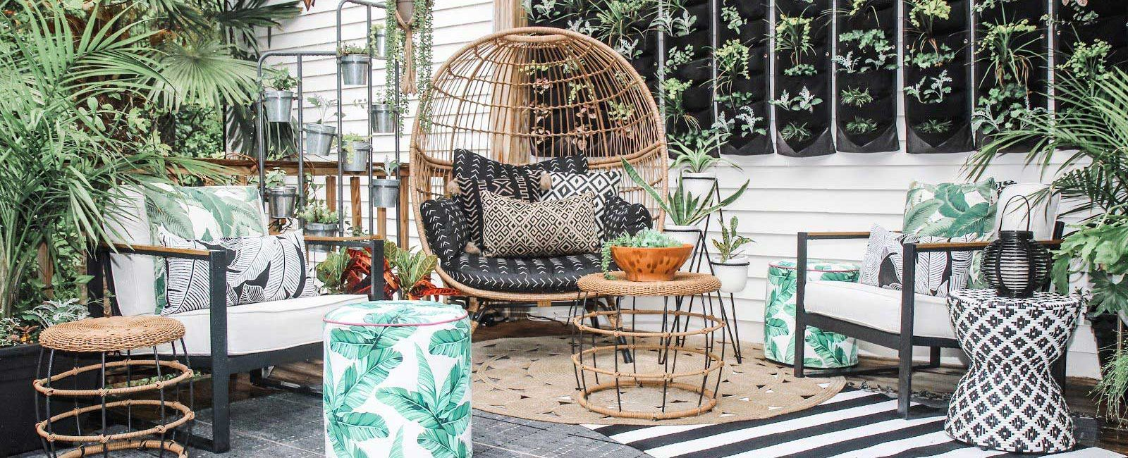 Cosy Outdoor Living Area