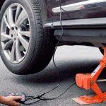 Use a Portable Car Jack