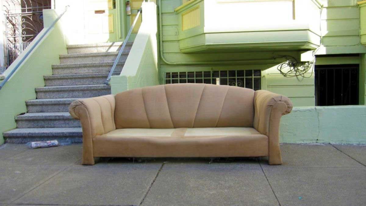 Leave Old Furniture on the Curb
