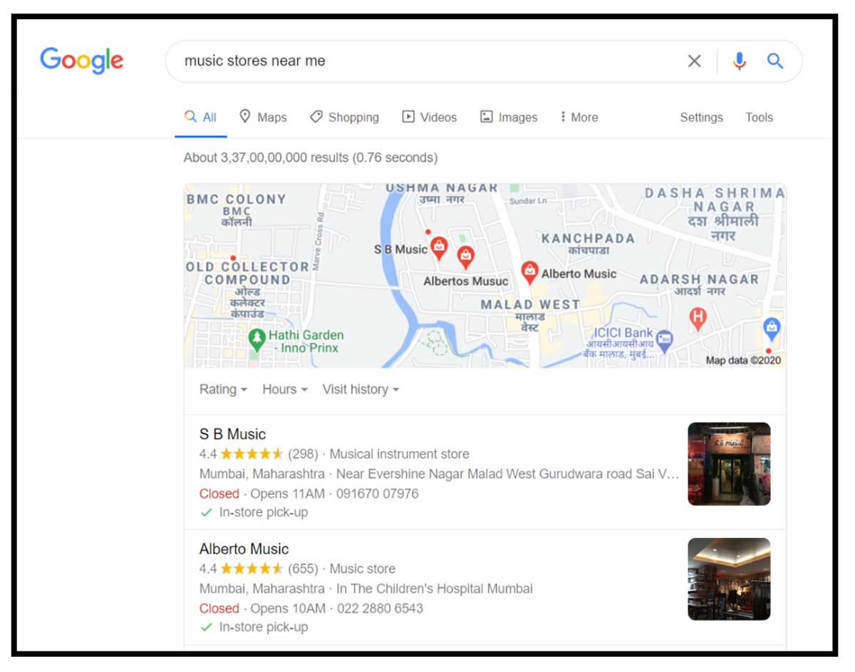 where customers can access it