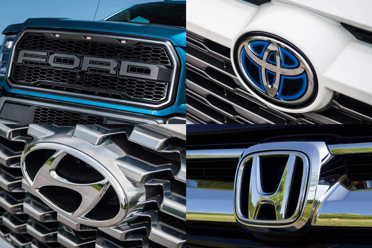 10 best-selling car brands