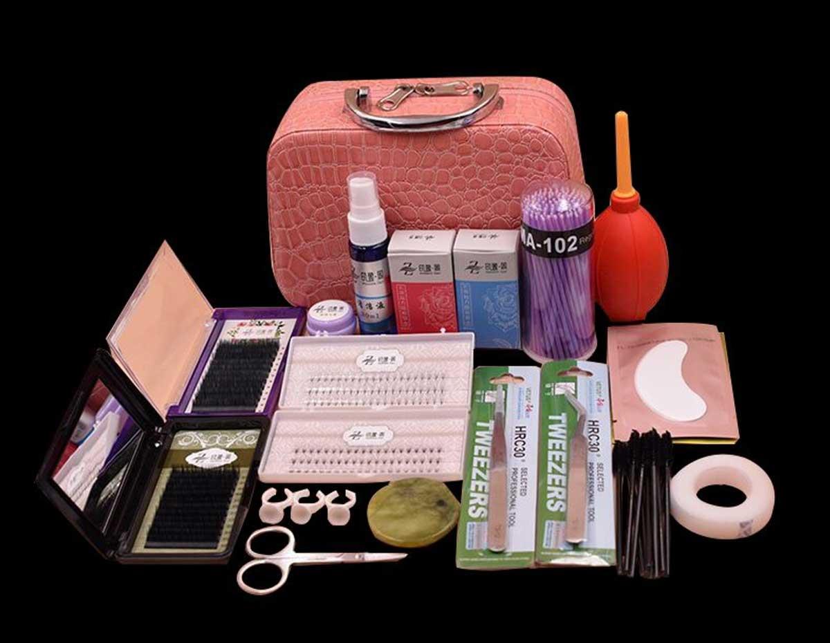 6 Essentials of Eyelash Extension kit-