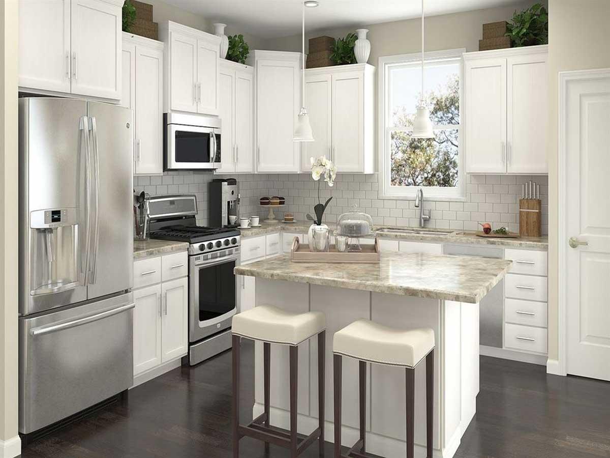 L-Shaped Kitchen Layouts