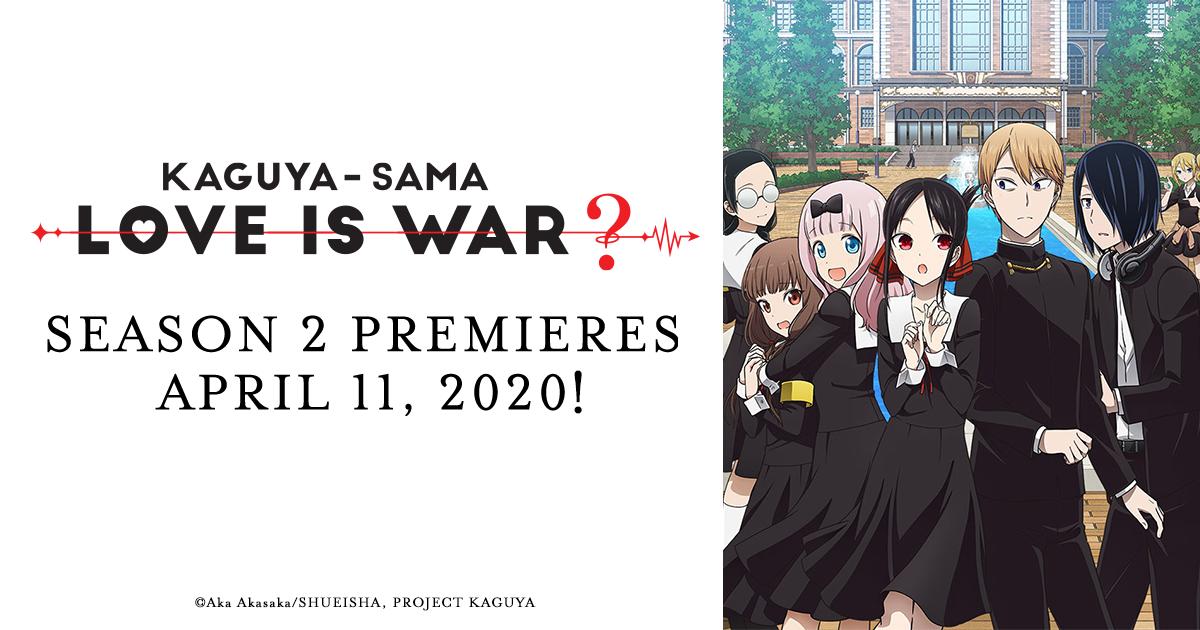 Kaguya-Sama Love Is War Season 2 Release Date