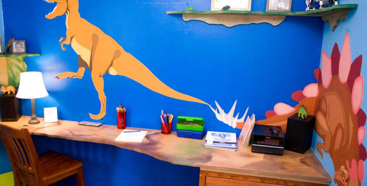 Dinosaurs Into Fun Decor