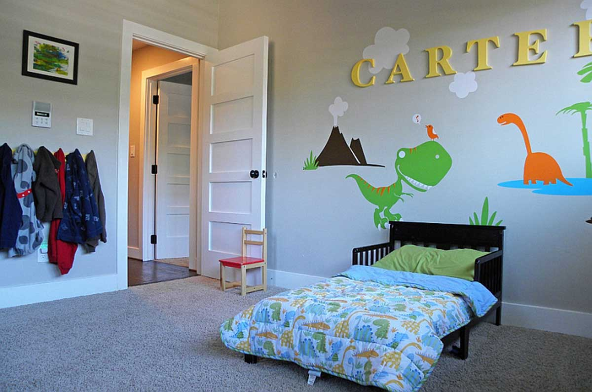 Turn A Child's Love For Dinosaurs Into Fun Decor