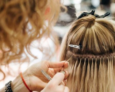 Clip-In Hair Extensions Perfectly for a Party