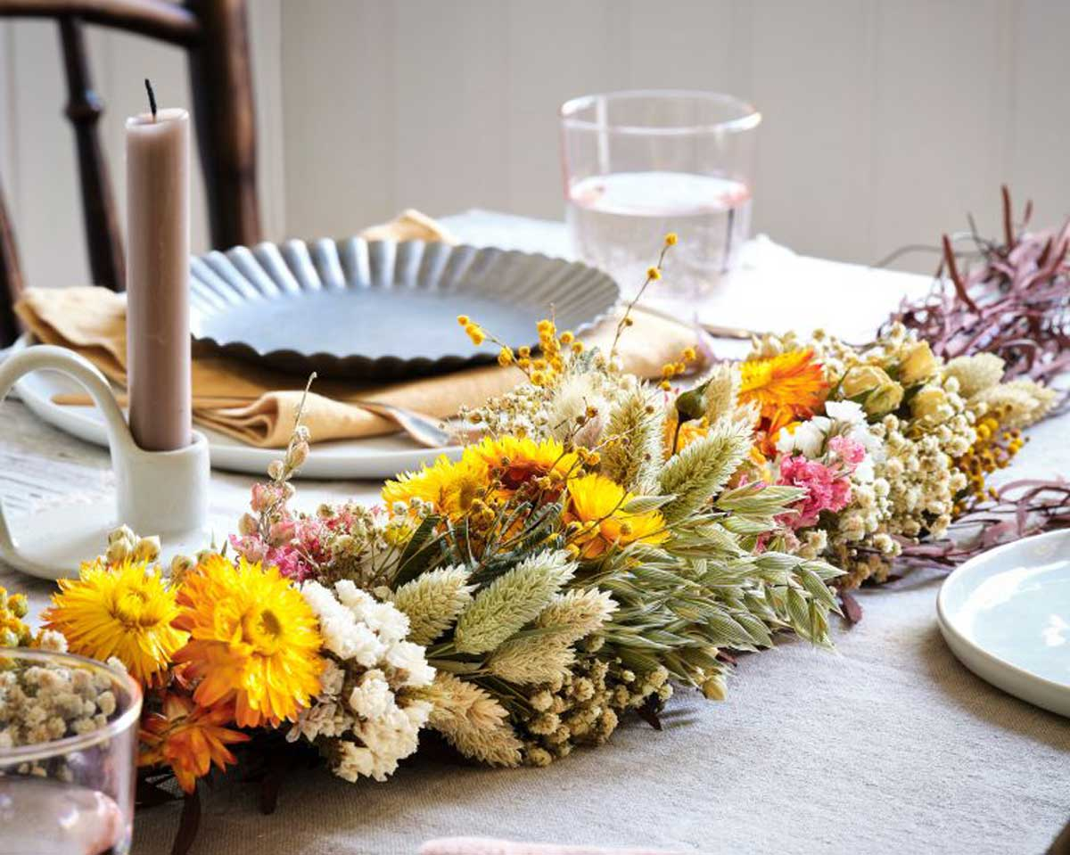 Gorgeous Dried Flowers